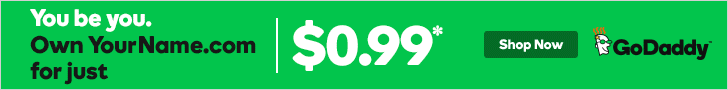 GoDaddy $0.99 .COM Domain Names
